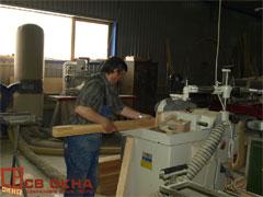 производство деревянных окон из дуба