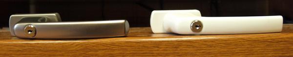 Оконные ручки МАСО с ключом