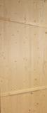 """Дверь деревянная банная """"ласточкин хвост"""""""
