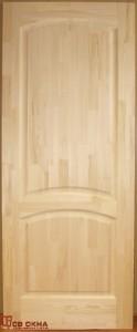Дверь деревянная межкомнатная. Материал сосна. Без окраски.