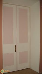 Дверь парадная художественная. Обратная сторона.