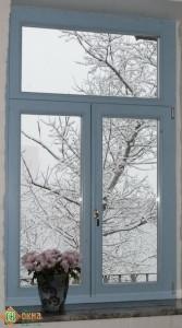 "Евро окно, материал сосна. Цвет по RAL. Комплектация ""ОПТИМУМ""."