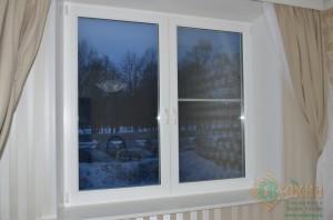 ЕВРО окно в интерьере квартиры
