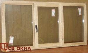 Окно ОСВ 3-х створчатое. Без отделки. 940х1860мм.