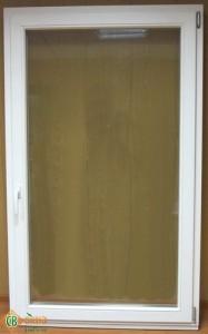 Распродажа. Деревянное окно ЕВРО 1-створчатое. Цвет Белый. 1720х1040мм.