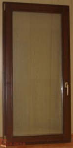 Окно ОСВ 1-но створчатое. Цвет Махагон. 1570х780мм.
